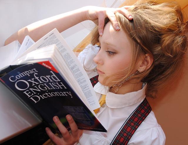 studentka angličtiny
