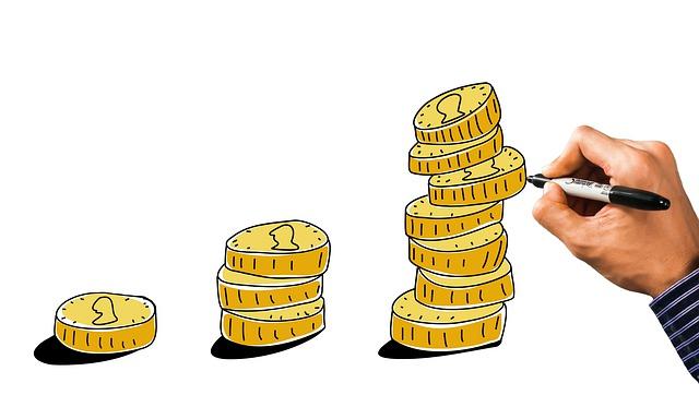 ilustrace růstu úroků