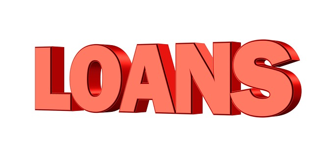 "červený nápis ""půjčky"""
